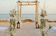 Fall Beach Weddings: step by step
