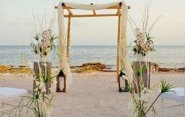 Fall Beach Weddings: step by step