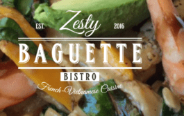 Zesty Baguette Bistro Features French-Vietnamese Fare
