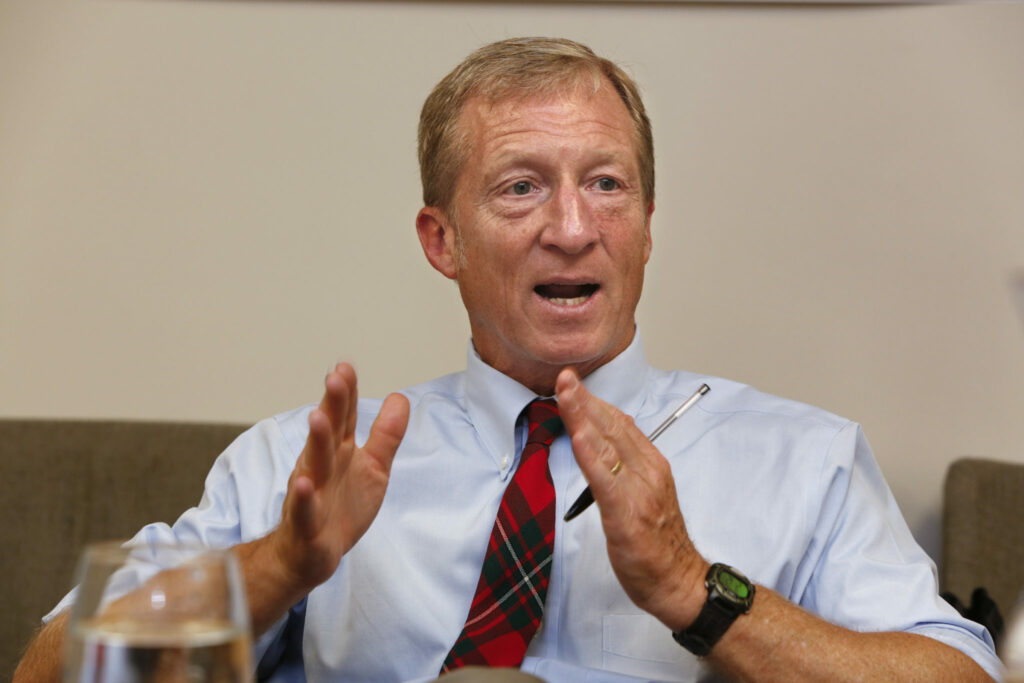 Steyer's Lunatic Midterm Message