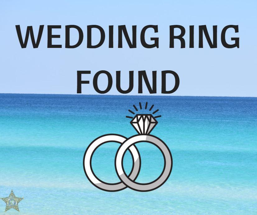 Wedding Ring Found