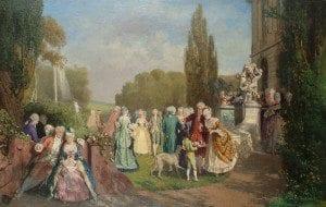 k m,An_elegant_party_in_a_garden