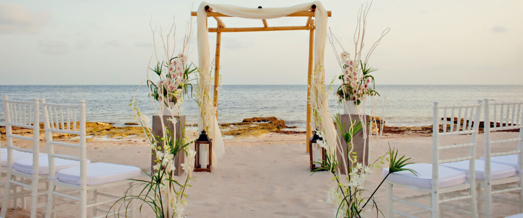 Fall Beach Weddings Step By