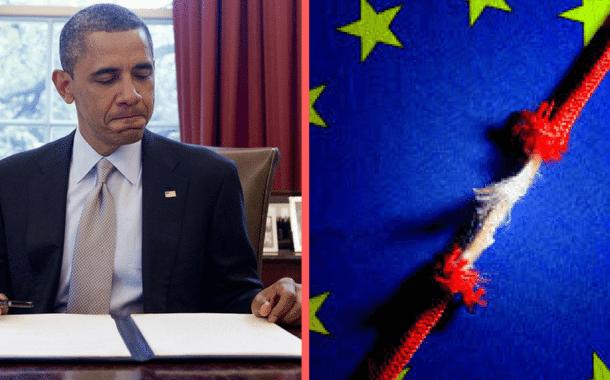 Obama Lackeys Undermining Trump in Europe