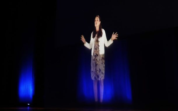 New Zealand's Prime Minister is the latest world leader to beam in as a hologram