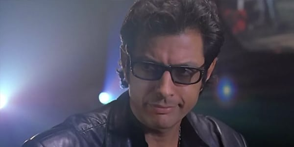 How Jeff Goldblum Remembers His First Time Ever Seeing A Dinosaur While Making Jurassic Park