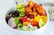 Grilled Shrimp Taco Bowl