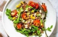 Lentil Salad with Summer Vegetables