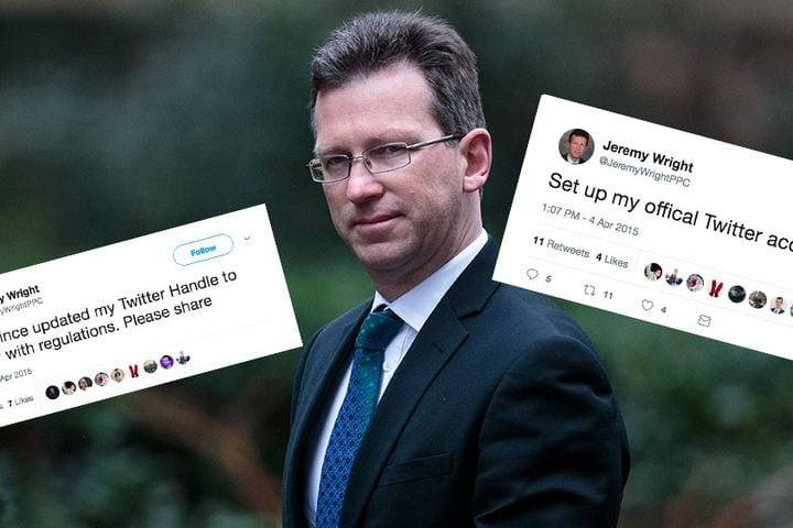 The UK's new digital minister hasn't tweeted since 2015