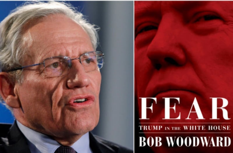 Will Woodward's book take down Trump? Sources say: Hell No!