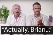 Ryan Reynolds and Richard Branson fall out during gloriously awkward promo
