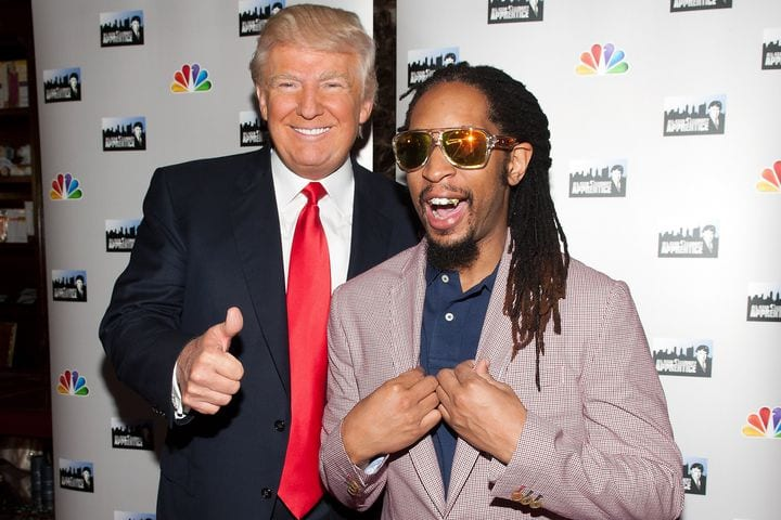 Trump said he doesn't know who Lil Jon is, so here are photos of them together