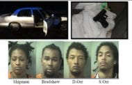 Four Charged Following Pursuit Through Shalimar