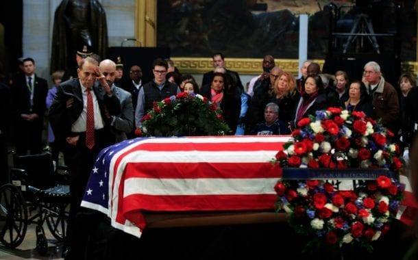 America Bids Farewell to George H.W. Bush