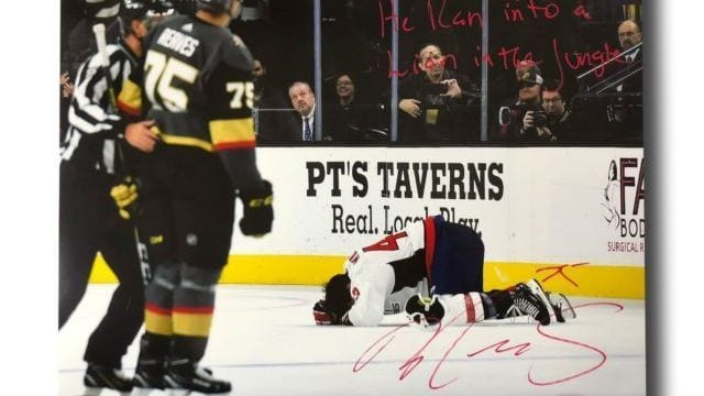 Knights: Signed pics of Reaves' hit 'destroyed'