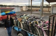 WCSO DONATES MORE THAN 40 BIKES TO GULF COUNTY BOY SCOUT TROOP IMPACTED BY HURRICANE MICHAEL