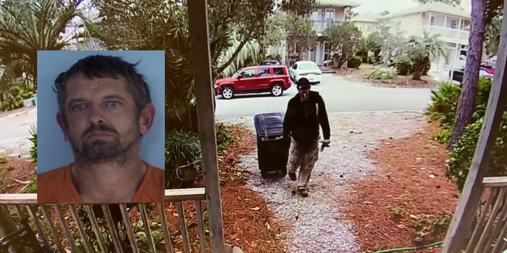 THE GRINCH ARRESTED IN WALTON COUNTY; PORCH PIRATE CAUGHT WITHIN 24 HOURS OF STEALING PACKAGE