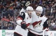 Coyotes rally to beat Ducks 5-4 in OT on Schmaltz's goal
