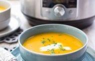 Pressure Cooker Butternut Squash Soup