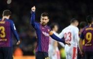 Messi first ever to score 400 La Liga goals