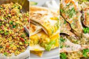 Use-It-Up Meal Plan! Pork Chops, Quesadillas, and Fried Rice