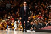 Gophers' Pitino to square off against father's former program Louisville