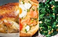 Use-It-Up Meal Plan! Chicken, Smoked Salmon & Pine Nuts