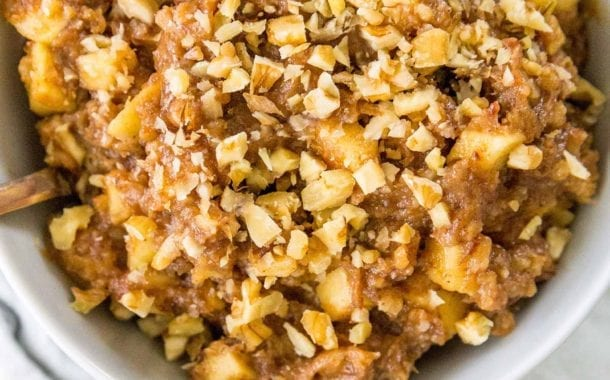 Charoset with Apples, Dates, and Walnuts