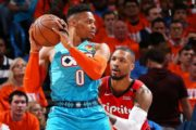 Russ gets better of Lillard in chippy Game 3 win