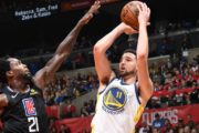 Klay: Pacific Ocean swim spurred 32-point game