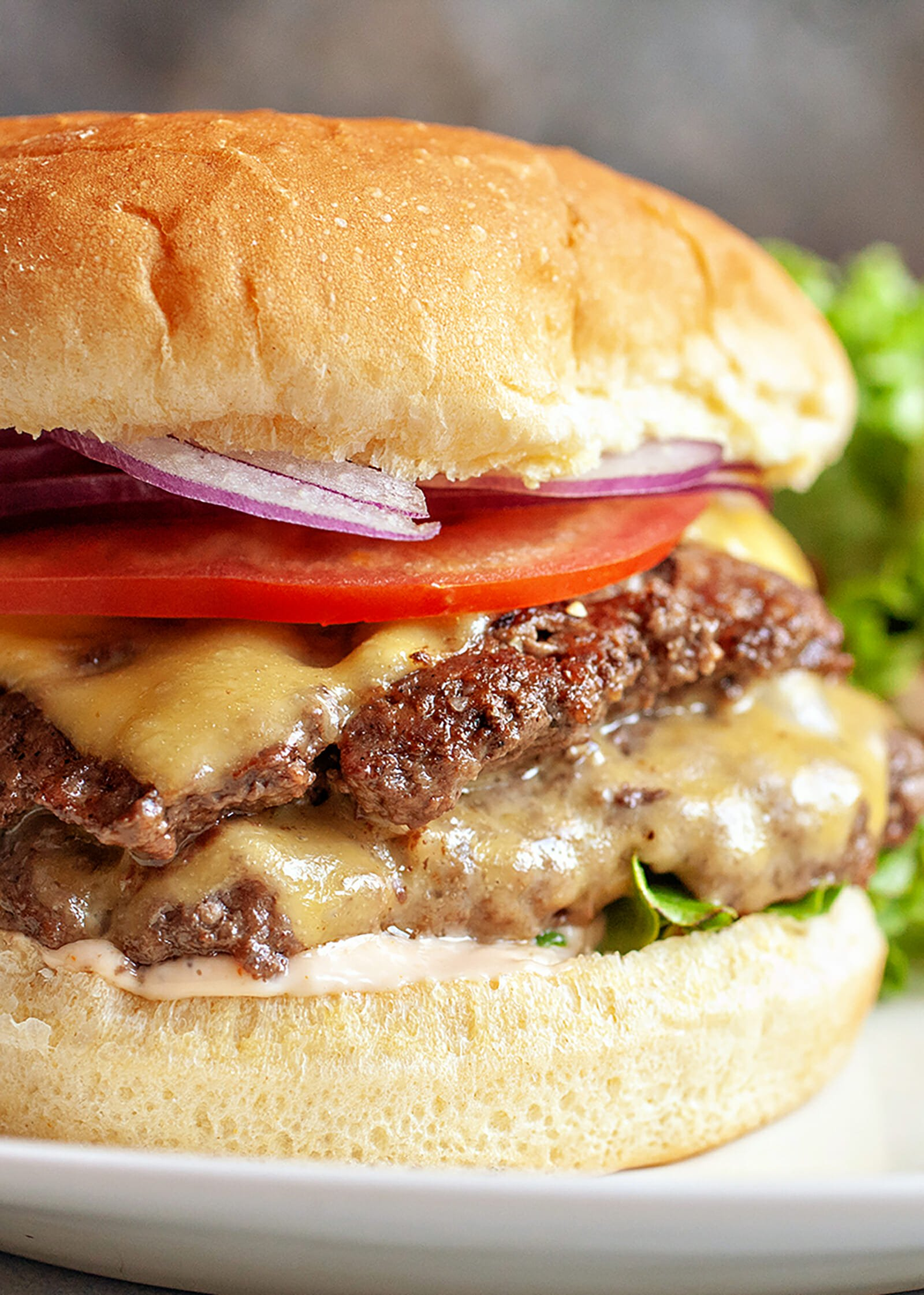 Stovetop Double-Stack Cheeseburgers