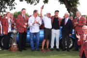 Na gifts classic car to caddie after Colonial win