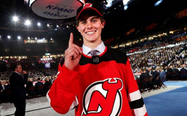 Goin' high: Hughes chooses No. 86 with Devils