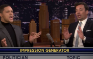 Trevor Noah and Jimmy Fallon give their best 'stoned Trump' impressions