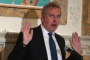 UK Ambassador Hoists White Flag
