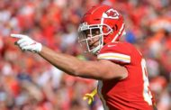 Kelce regrets shoving Chiefs OC: 'We're good'
