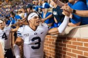 BYU to start black QB for first time in its history