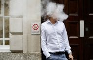Another health warning for e-cigarette users — that has nothing to do with lung disease