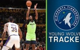 Versatile Wolves rookie Naz Reid makes NBA debut
