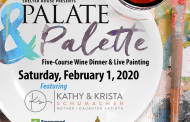 Shelter House's 4th Annual Palate & Palette Five-Course Wine Dinner and Live Painting hosted February 1