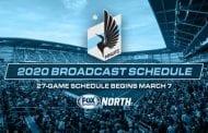FOX Sports North announces 2020 Minnesota United TV schedule