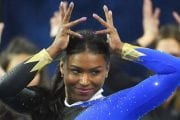UCLA gymnast Nia Dennis is on her way to breaking the internet