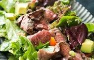 Easy Steak Salad with Lemon Vinaigrette