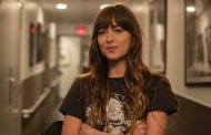 Watch Dakota Johnson Social Distance With Jimmy Kimmel In Wild Pink Outfit