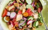 Fattoush Bread Salad