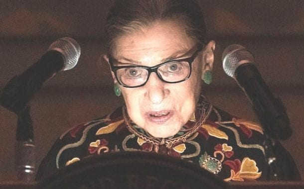RBG Dead – The Political Earthquake to Come