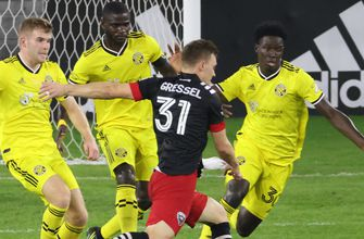 Crew blanked by D.C. United 1-0