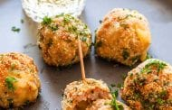 Camembert-Stuffed Sausage Balls