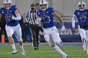Jayhawks seek first win of season against struggling Red Raiders