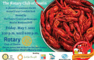 9th Annual Destin Rotary Cajun Crawfish Bash